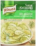 Knorr Salatkrönung Dill Kräuter Dressing, 15er Pack (15 x 52 ml)