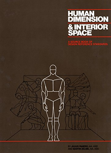 Human Dimension And Interior Space por Julius Panero
