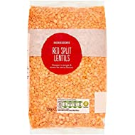 Morrisons Wholefoods Red Split Lentils, 500g