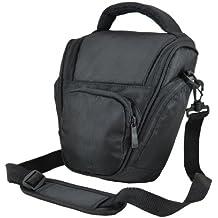 Bw & h - Funda para cámaras réflex digitales Nikon D3000, D3100, D3200, D7000, D5200, D5100 y D5000, color negro