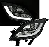 Eagle Eyes Frontblinker Set mit LED Blinker in Klarglas Schwarz
