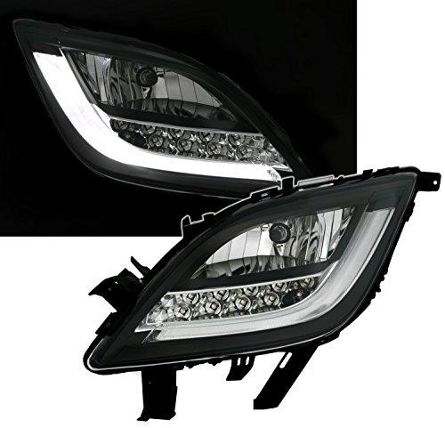 Eagle Eyes Frontblinker Set mit LED Blinker in Klarglas Schwarz