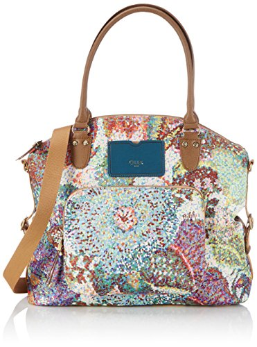 Oilily Oilily Carry All, Borsa shopper donna Multicolore (Pastel 017)