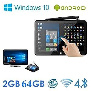 """Wangang PIPO X9 64GB Mini Computer 8.9"""" 1920x1200 PC TV Box Desktop Intel Z3736F Quad Core Windows10 Android 4.4 Kikat Dual Boot Mini PC 2GB RAM 64GB ROM Media player devic"""