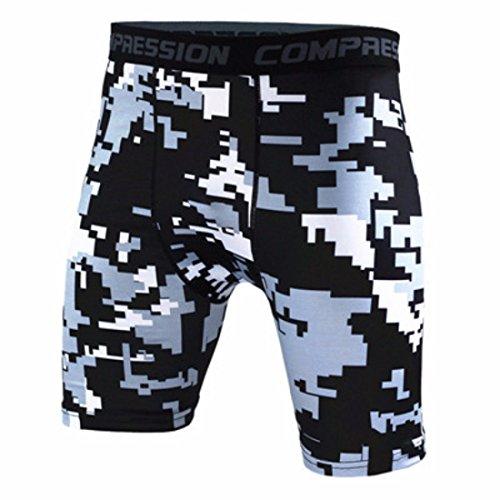 Men's Bermuda Camouflage Compression Board Shorts 9