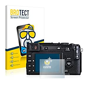 2x BROTECT Film Protection pour FujiFilm X-E1 Protection Ecran - Mat, Anti-Réflets