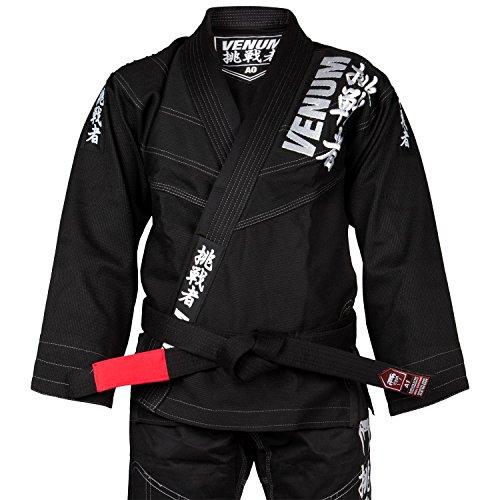 Venum challenger 4.0, kimono bjj uomo, nero, a2.5