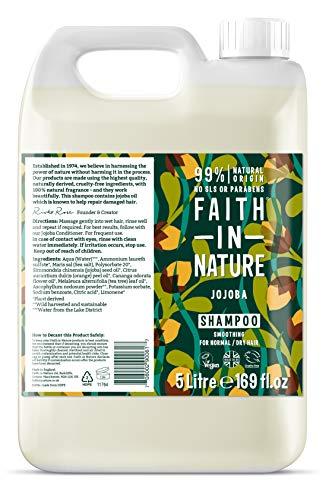 Faith In Nature Jojoba Shampoo, 5 Litre