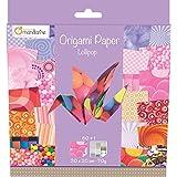 Decopatch - 52505MD - Avenue Mandarine - Origami Paper Lollipop - 20 x 20 cm - 60 Feuilles - 70 g