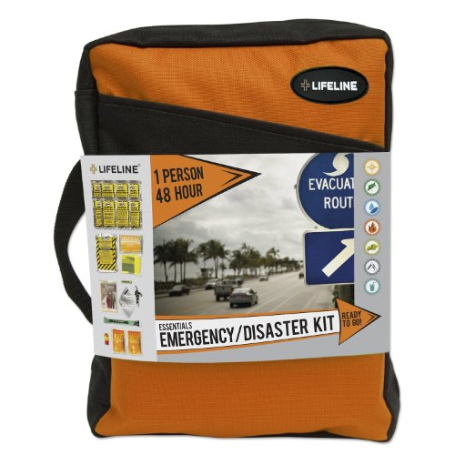 Lifeline 4045-NM Orange (1 Person 48 Hour) Essential Emergency Disaster Kit