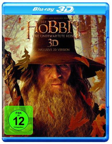 Der Hobbit - Eine unerwartete Reise (3D Blu-ray)