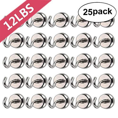 Bkinsety Pack de 25 Gancho Magnético