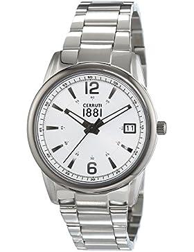 Cerruti 1881 Damen-Armbanduhr RAVELLO Analog Quarz Edelstahl CRM103STU04MS