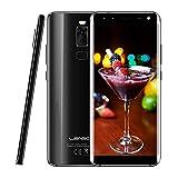"""Leagoo S8 - Smartphone Pas Cher 4G, 5,7"""" Écran Infinity, Android 7.0 Octa Core 3Go+32Go, Appareil 13MP+2MP & 8MP+2MP, Lecteur D'empreinte Digitale, Double SIM, Téléphones Portables Débloqués(Noir)"""