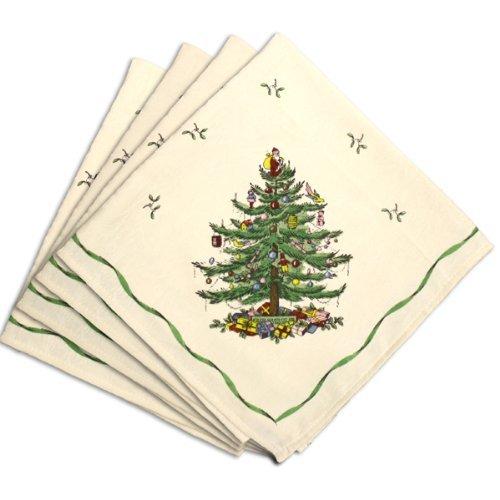 Avanti Spode Baum 4Serviette, 20, elfenbeinfarben -