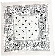 GIRRIJA Unisex Cotton Bandanas (Multicolours, Free Size) - Pack of 1 Pieces