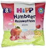 Produkt-Bild: HiPP Himbeer Reiswaffeln, 7er Pack (7 x 30 g)