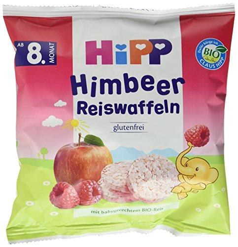HiPP Himbeer Reiswaffeln, 7er Pack (7 x 30 g)