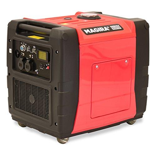 Preisvergleich Produktbild MAGIRA 5,5kW Diesel Inverter Stromerzeuger 5500W | 5,5 kW 12V 230V Schallgedämpfter Dieselbetriebener Diesel-Inverter Stromgenerator | Notstromaggregat, Inverter Generator mit E-Starter