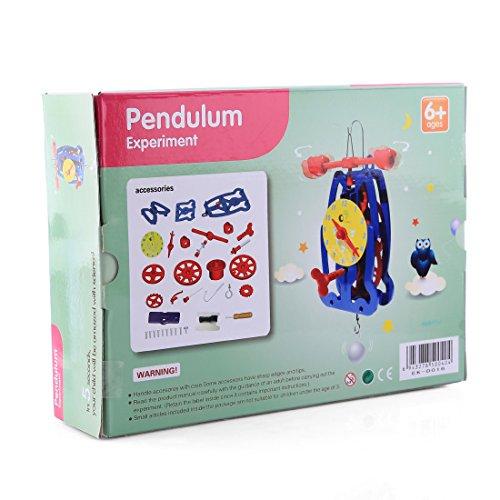 YAHAMA Experimentieren und Entdecken Elektrobaukasten für Kinder ab 6 Experimentier Kinder Uhr Pendel Experimentier