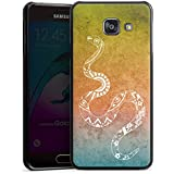 Samsung Galaxy A3 (2016) Housse Étui Protection Coque Mandala Serpent Serpent