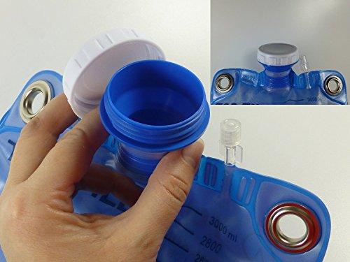 Klistier, Einlauf , Klistierbeutel 3 Liter mit Darmrohr und Metallösen zum sicheren Aufhängen des Beutels