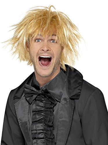 Two Tone Perücken (Smiffy's 43679 - 90er Messy Surfer Guy Wig Blonde Two)
