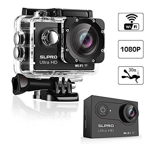 Action Cam WiFi Digital Kamera Sport DV Camcorder Wasserdicht (Ultra HD)