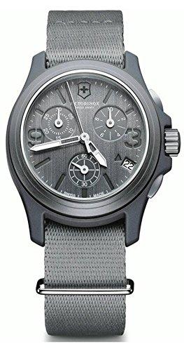 Unisex Watches VICTORINOX ORIGINAL CHRONO GRIS CORREA LONETA V241532