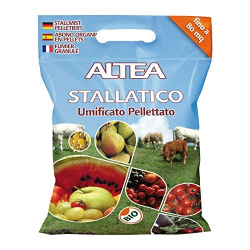 ALTEA Concime pellettato stallatico 5kg - Piante orto giardino concimi granulari
