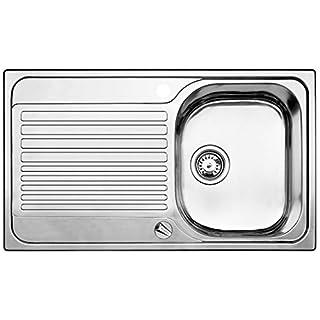 Blanco Toga 45 S Küchenspüle, Edelstahl Naturfinish,1 Stück, 513603