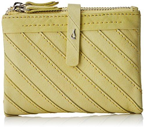 Abbacino Damen 70017 Brieftasche, Gelb (Yellow 60), 9.5x3x12 cm