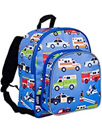 7ec4e51a92 Wildkin Toddler Backpack-Action Vehicles