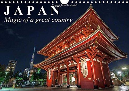 Japan Magic of a great country 2016: Land of the Rising Sun (Calvendo Places) por Elisabeth Stanzer