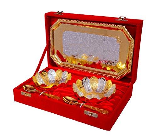 Vespl festival Gift motivo floreale dorato e