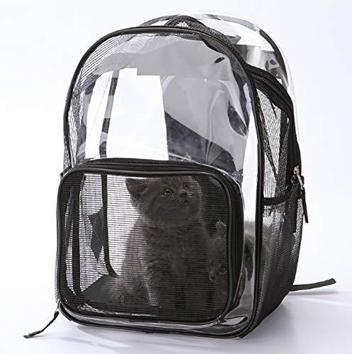 CRUGLZM Pet Diamond Space Capsule Tragbarer Rucksack Poröser Wasserdichter Haustierrucksack Bubble Dome Reisender Rucksack Leichte Tasche Für Katzen Petite Dogs & Small Animals -
