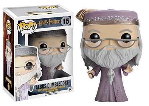 51pFU1tuKQL - Funko - POP! Vinilo Colección Harry Potter - Figura Albus Dumbledore (5891)