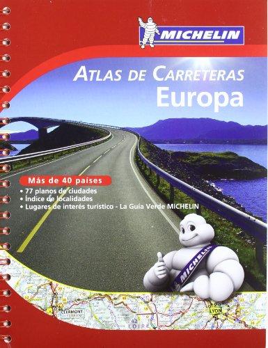 Europa (Atlas de carreteras) (Atlas de carreteras Michelin) por MICHELIN