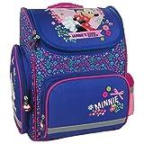 Disney Minnie Mouse Schulranzen Mädchen 1 Klasse Schulrucksack Schultasche | inkl. Stifteetui, Sportbeutel, Brotdose, Brieftasche | für Grundschule | leicht ! SET 6 tlg inkl. Sticker von Maximustrade