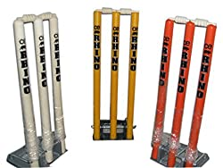 Rhino Top Quality Cricket Spring Back Cricket Stump Set -9