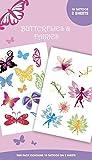 """GB Eye """"Butterflies, And Fairies"""" Tattoo Pack, Multi-Colour"""