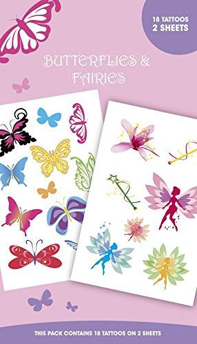 Gb eye, farfalle e fatine tattoo pack