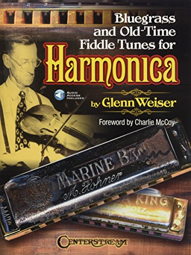 Bluegrass and Old-Time Fiddle Tunes for Harmonica [With Access Code]