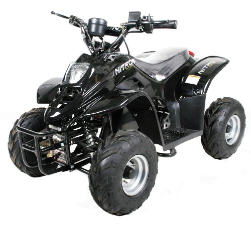 Elektro Quad 450W Kinderquad Kinderfahrzeug ATV Eco Bigfoot 3 St Regulierer Blau