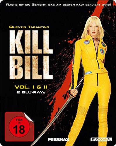 Kill Bill: Volume 1+2 - Steelbook [Blu-ray]