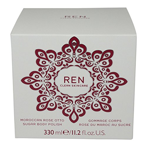 REN Moroccan Rose Otto Sugar Body Polish, Körperpeeling, 330 ml