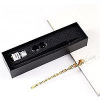 TYAW-Vidrieras de agua juego de plumas con tinta de bolígrafo caja de regalo bolígrafo cristal artesanal,C4