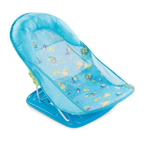 Summer Infant Deluxe Baby Bather Splish Splash 09566 - Hamaca de baño, color azul