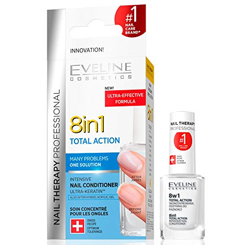 Eveline Total Action 8in1 Intensive Nagelpflege, 12 ml