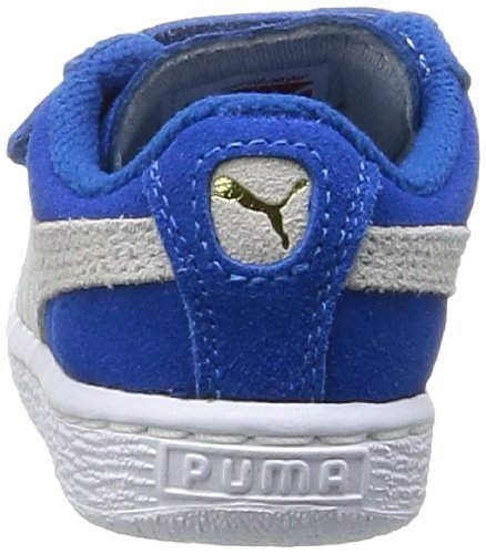 Puma, Baskets mode mixte bébé Bleu (Snorkel Blue/White)
